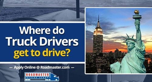 Where Do Truck Drivers Get To Drive?