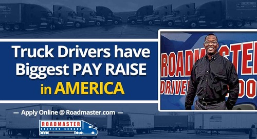 Truck Drivers Have Biggest Pay Raises in America