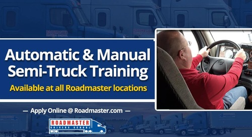 Automatic Transmission Semi-Truck Training Now Available!