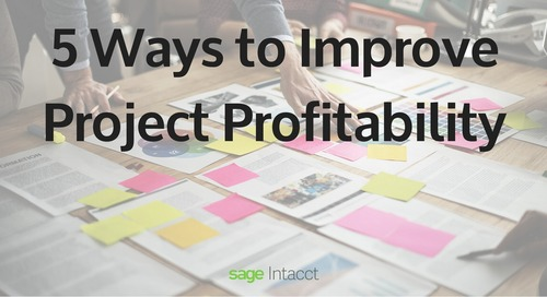 5 Ways to Improve Project Profitability
