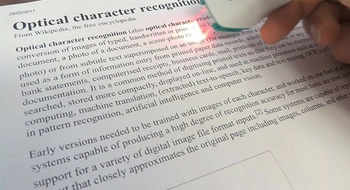 Debunking the Myths of Optical Character Recognition