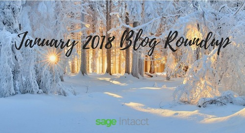 January Blog Roundup