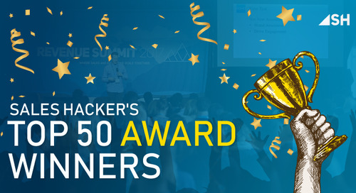 50 Must-Know Heavy Hitters: Winners of the Sales Hacker Top 50 Awards 2017!