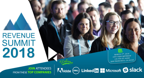 What To Expect At Revenue Summit 2018—Aligning Sales, Marketing & Customer Success