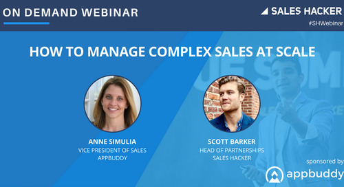 How to Manage Complex Sales at Scale