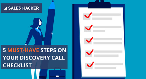 A 5-Step Discovery Call Checklist Proven to Increase Conversions by 580%
