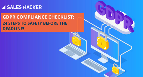 Get Peace of Mind: A Final Look at Your GDPR Compliance Checklist (24 Steps)