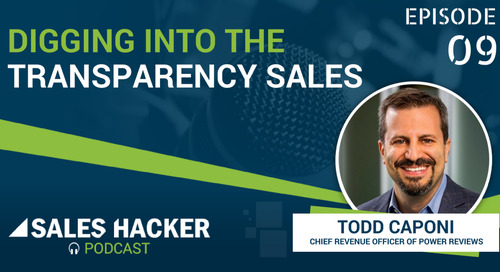 PODCAST 09: Unraveling the Power of The Transparency Sale
