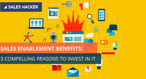 Sales Enablement Is Here to Stay: Here Are 3 Irrefutable Reasons Why