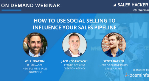 How to Use Social Selling to Influence Your Sales Pipeline