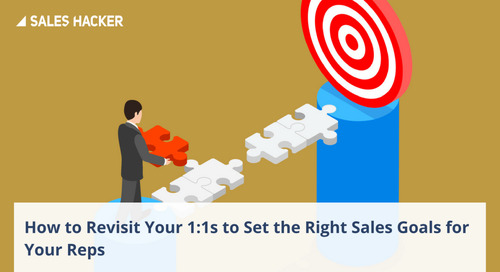 A Sales Coach's Tactical Guide on Setting the Right Goals for Sales Reps