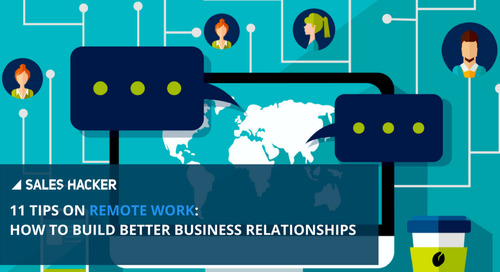 How To Survive and Thrive in a Long-Distance (Business) Relationship