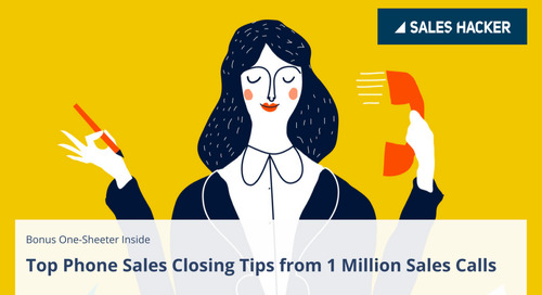 Phone Sales Closing Tips For Massive Win Rates: Based on 1M Sales Calls
