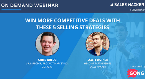 Win More Competitive Deals with These 5 Selling Strategies