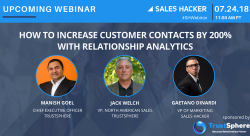 How To Increase Customer Contacts By 200% With Relationship Analytics