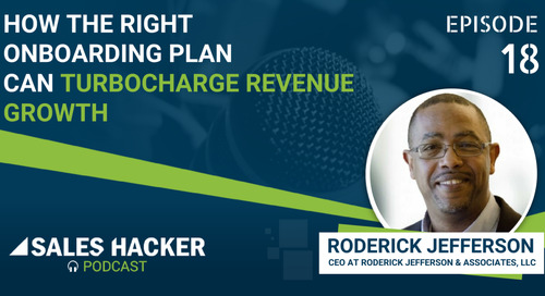 PODCAST 18: How the Right Onboarding Plan Can Turbocharge Revenue Growth