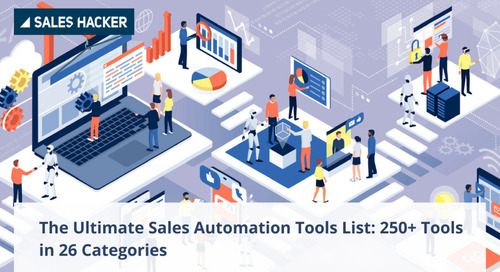 Sales Automation: 250+ Tools to Turbocharge Your Sales Process