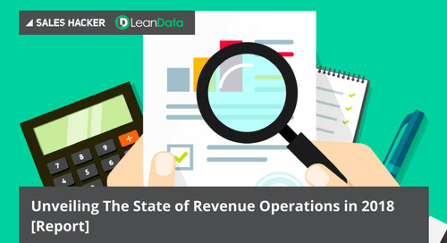 Unveiling The State of Revenue Operations in 2018 [Report]