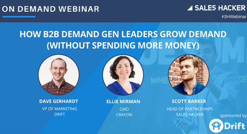 How B2B Demand Gen Leaders Grow Demand (Without Spending More Money)