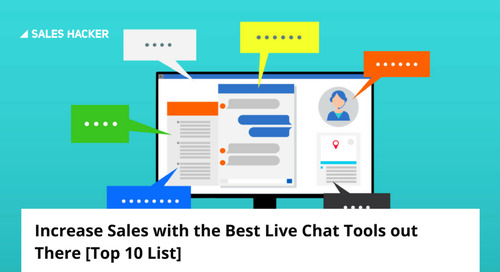 Increase Sales with the Best Live Chat Tools out There [Top 10 List]
