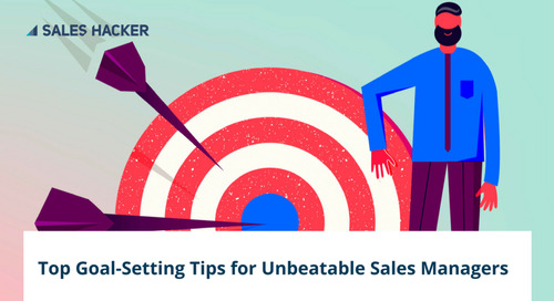 The Best Sales Managers Don't Chase Revenue: 6 Steps to Get Goal-Setting Right