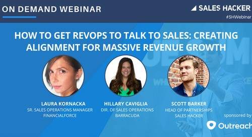 How to Get RevOps to Talk to Sales: Creating Alignment for Massive Revenue Growth