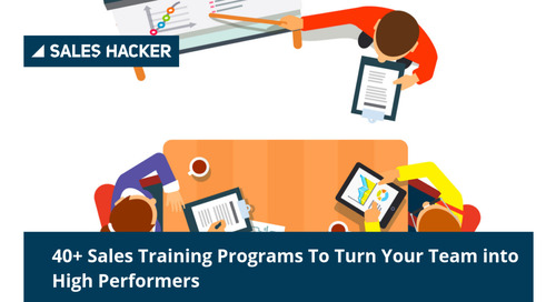 40+ of the World's Best Sales Training Programs to Get Your Team Into Shape