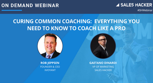 Curing Common Coaching: Everything  You Need to Know to Coach Like a Pro