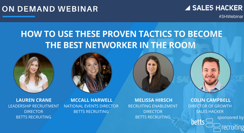 How to Use These Proven Tactics to Become the Best Networker in the Room