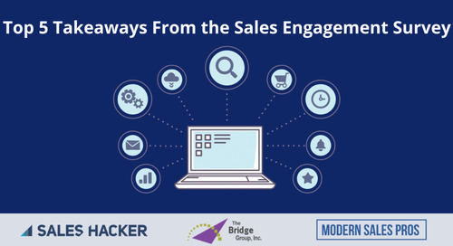 Top 5 Takeaways From The Ultimate Sales Engagement Survey