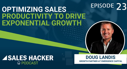 PODCAST 23: Strategies to Improve Sales Productivity as You Scale