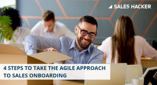 How the Agile Approach Can Ramp Up Sales Onboarding