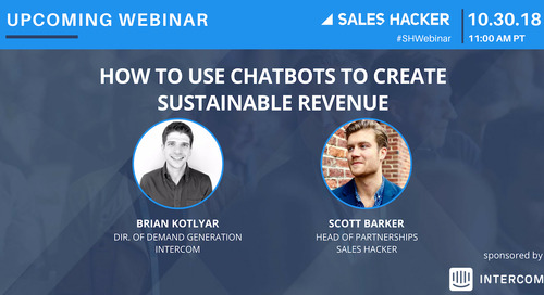 How to Use Chatbots to Create Sustainable Revenue