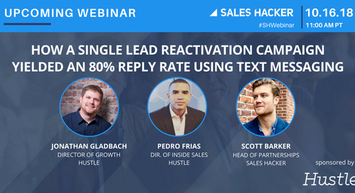 How a Single Lead Reactivation Campaign Yielded an 80% Reply Rate Using Text Messaging