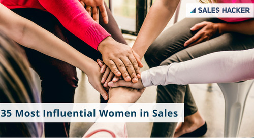 Sales Hacker's 35 Most Influential Women in Sales