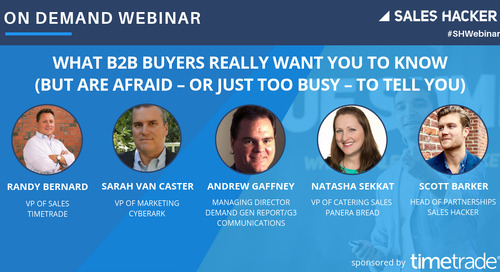 What B2B Buyers Really Want You to Know