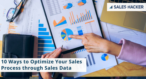 10 Ways To Optimize Your Sales Process Through Sales Data