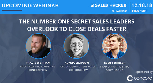 The Number One Secret Sales  Leaders Overlook to Close Deals Faster