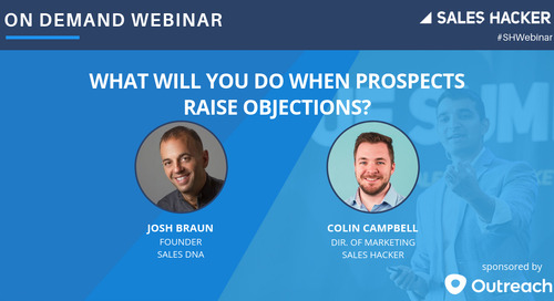 What Will You Do When Prospects Raise Objections?