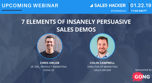 7 Elements of Insanely Persuasive   Sales Demos