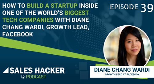 PODCAST 39: How to Build A Startup Inside One of the World's Biggest Tech Companies