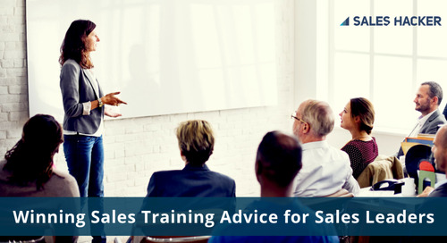 Winning Sales Training Advice From a Long-Time Test Prep Instructor