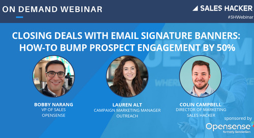 Closing Deals With Email Signature Banners: How To Bump Prospect Engagement By 50%