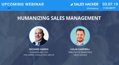 Humanizing Sales Management