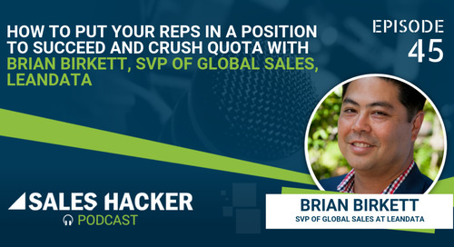 PODCAST 45: Key to Success in Sales w/ Brian Birkett