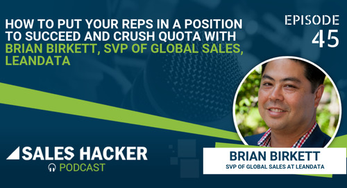 PODCAST 45: Key to Success in Sales w/ Brian Birkett