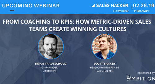 From Coaching To KPIs: How Metric-Driven Sales Teams Create Winning Cultures