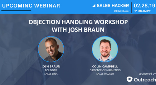 Objection Handling Workshop with Josh Braun