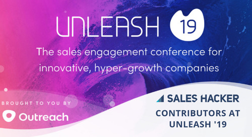 Sneak Peek: See The 26 Sales Hacker Contributors That Will Be at Unleash '19