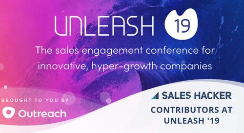 Sneak Peek: See The 26 Sales Hacker Contributors That Will Be at Unleash '19